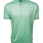 mens neo mint performance polo shirt