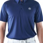 Men's Jersey Performance Polo - Navy Image